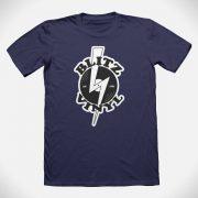 Blitz Vinyl T-Shirt Navy