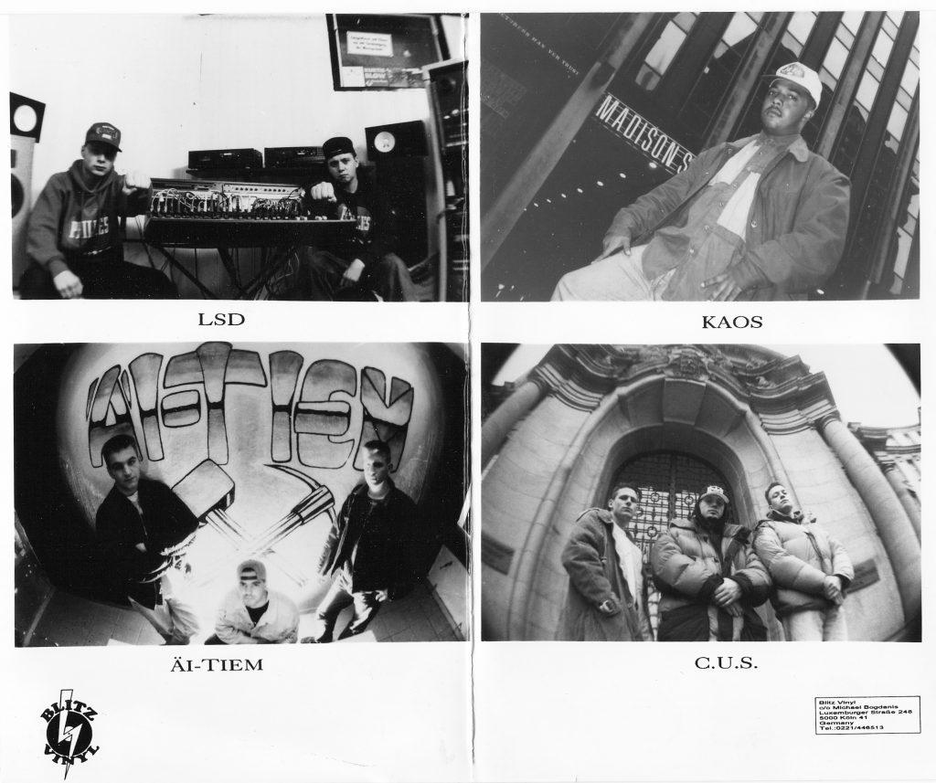 Blitz Vinyl Promofotos (1993)