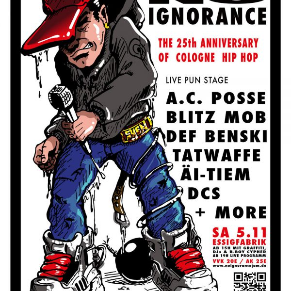 No Ignorance Jam Poster Din A1
